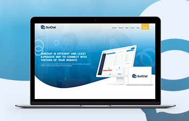 SunChat Landing Page